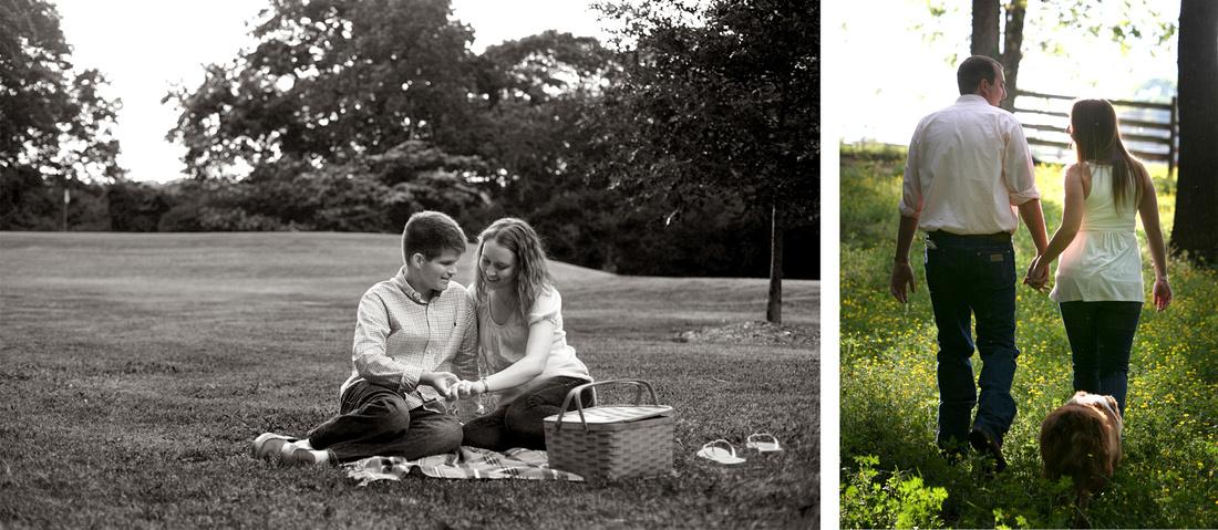 Engagement photography session at Chastain Park Atlanta and Madison, Ga (Georgia)