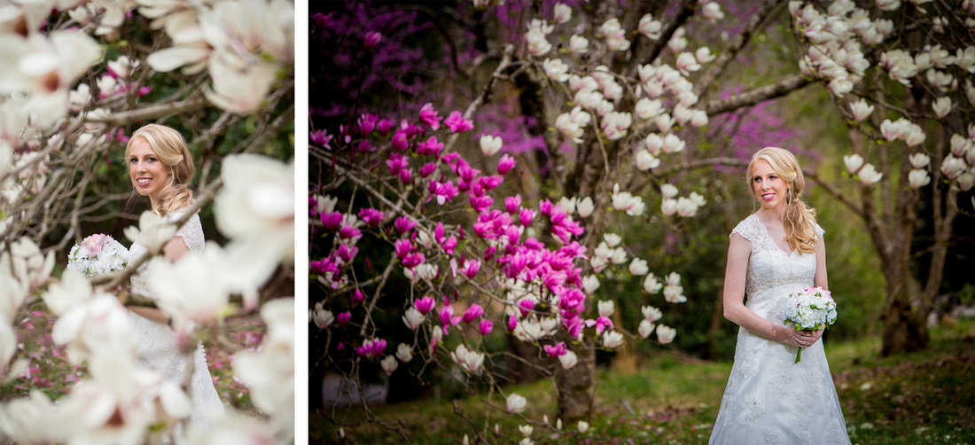 Bridal Photography session at the Athens Botanical Gardens